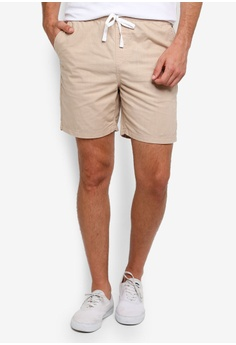 11f8b4f30 Cotton On beige Easy Shorts A177EAA5B3C49BGS 1