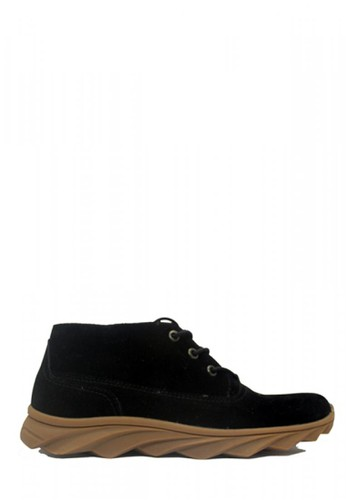 D-Island black D-Island Shoes Boots Sneakers England Suede Black C3748SH6284425GS_1