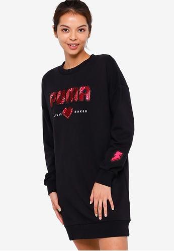 PUMA black Digital Love Women's Dress 3CC10AA0709658GS_1