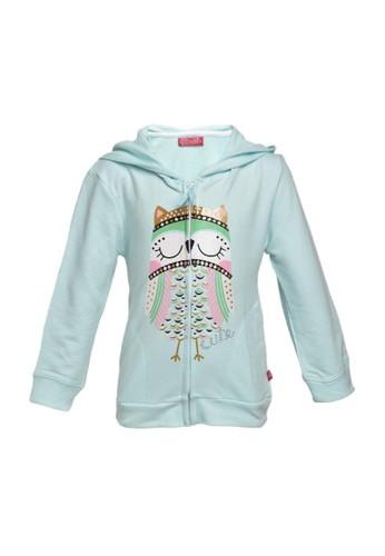Cute blue Jacket hoodie 15BAAKA6C9C0A7GS_1