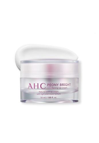 AHC AHC Peony Bright Toning Up Cream 50ml D190CBE8DB31DAGS_1