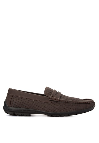 Preview brown Penny Loafers PR211SH0J9TGPH_1