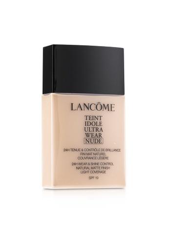 Lancome LANCOME - Teint Idole Ultra Wear Nude Foundation SPF19 - # 007 Beige Rose 40ml/1.3oz D8EE0BE5F2A21DGS_1
