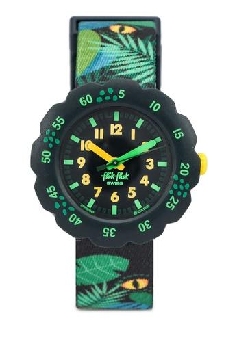 Flik Flak green Eye See U Watch 92A31KC2BF2E95GS_1