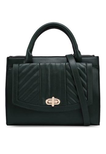Esprit Green Chevron Handbag 83859ace47187egs 1