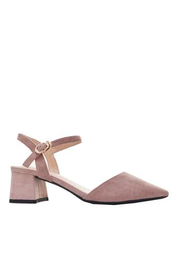 Twenty Eight Shoes pink Slingback Heel 181-2 345C0SHBF5C966GS_1