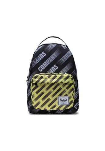 Herschel black Herschel Miller Backpacks - HSC Motion Black/Highlight 26C19AC0F3DDE3GS_1