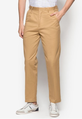 基本款休閒長褲esprit官網, 服飾, 直筒褲