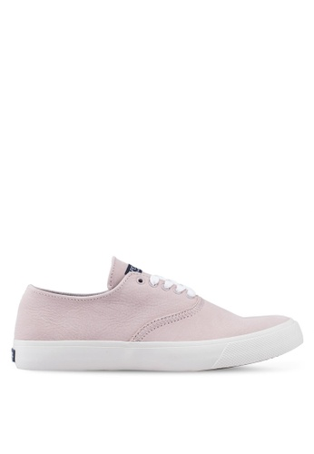 SPERRY pink Captain's Cvo Washable Leather Sneakers BDC40SHBB9E1C1GS_1