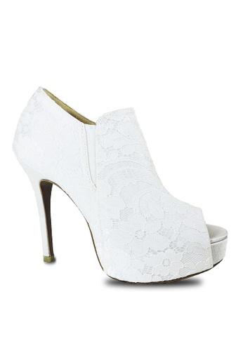 Jacque white Booties White Boot JA262SH81MAKMY_1