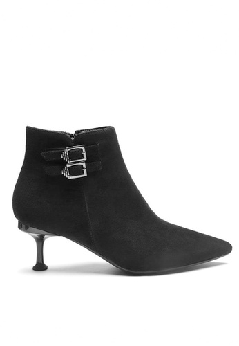 Twenty Eight Shoes Synthetic Suede Ankle Boots 1903-1 512F4SHCA79CD8GS_1