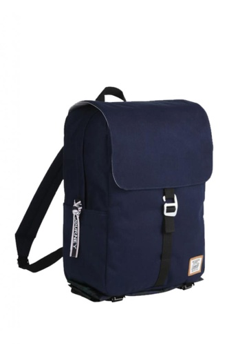Coleman blue Journey Flap Top Backpack with Rain Cover C5239ACCA54381GS_1