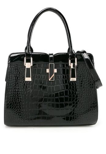 Aamour black Sapphire Bag 33D01AC5F1E3C7GS_1