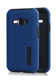 Dual Pro HardShell Case with Impact Absorbing Core for Samsung Galaxy J12 (J1 2 16)