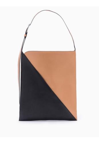 Calvin Klein black Sliced Small Hobo Bag 7877DACACBD51FGS_1