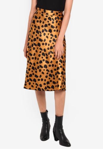 e544f57bfa6a Buy Vero Moda Christas Satin High Waist Skirt | ZALORA HK