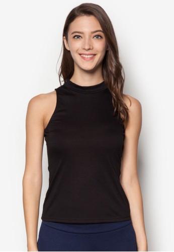 基本款高領T-shirt、 服飾、 上衣ZALORA基本款高領上衣最新折價