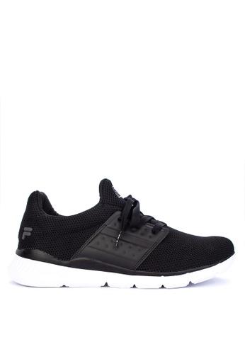 Fila black Marker Running Shoes E7F46SHC22F4F8GS_1