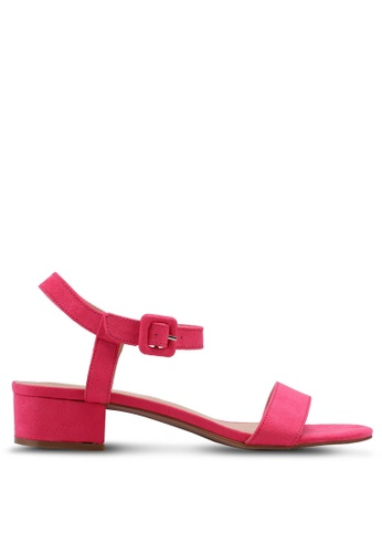 ONLY pink Apple Heeled Sandals AC718SH654A058GS_1