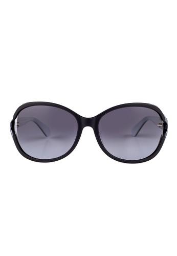 Kate Spade black Kate Spade Amethyst  Black Sunglasses 9HT9O KA433AC63JSMMY_1