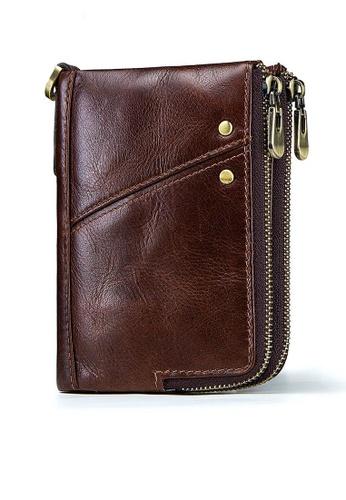 Twenty Eight Shoes Vintage Genuine Leather RFID Security Multifunctional  Wallet BP852 159DBAC12B6B9BGS_1