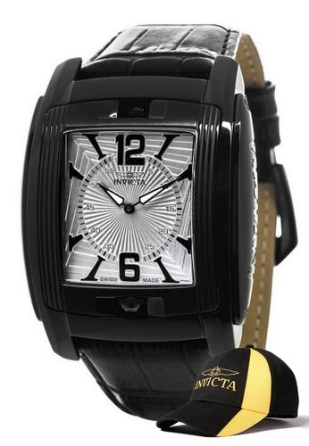 INVICTA black Invicta Vintage Men Swiss Quartz 48mm Classic Watch 90180 w/ Free Official Baseball Cap F3302ACB0D94A9GS_1