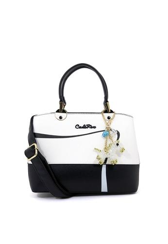 Carlo Rino black Carlo Rino 0304225-002-08 Top-handle bag (Black) 6EA92ACDECB09CGS_1