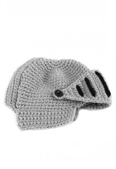 Knitted Knight Hat Crochet