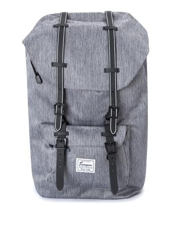 Transgear grey Backpack 348-TGBP TR281AC0IQNOPH_1