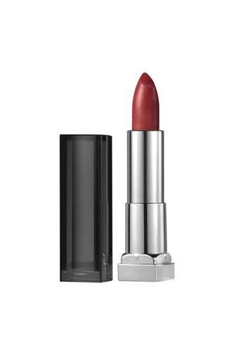 Maybelline red Maybelline Color Sensational Matte Metallics Lipstick - 20 Hot Lava 63D86BEC40F3AFGS_1