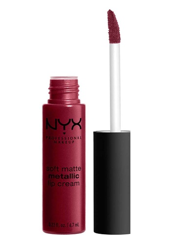 NYX Professional Makeup red NYX Professional MakeupSoft Matte Metallic Lip Cream - MADRID 362E4BE92E6D30GS_1