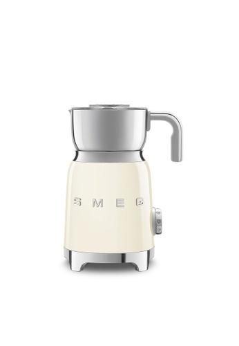 SMEG MFF01CRUK Milk Frother, Cream 9B12FES2B5B152GS_1