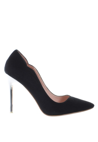 PRODUIT PARFAIT 黑色 雙色尖頭高踭鞋 3A300SHDC82B13GS_1