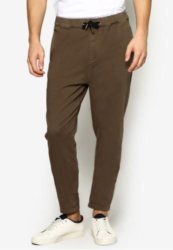 簡約抽繩休閒長褲, 服飾, 長esprit outlet hk褲