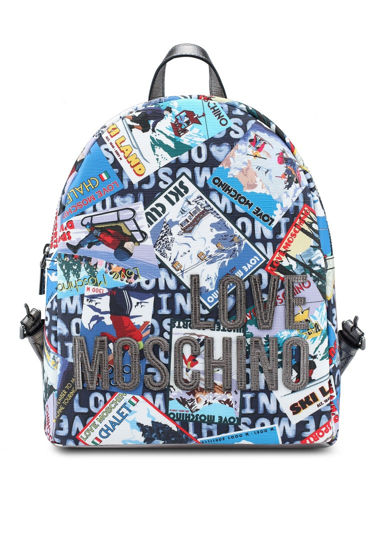 f326482d066 Love Moschino Digital Backpack Multi Black Borsa Friday Print fBxqwCznC7 ...