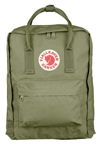 Fjallraven Kanken green Green Kanken Classic Backpack 1E180AC01F43EFGS_1