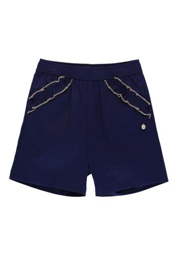 Kingkow navy Cotton Shorts 4-8 years F9DC4KAFD4D681GS_1