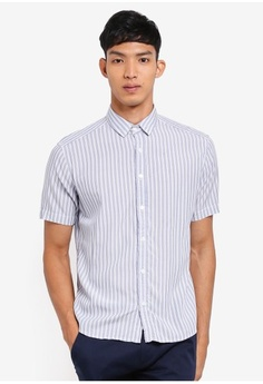 2002296c231 ESPRIT. Vertical Stripes Shirt