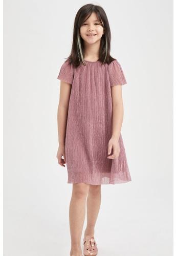 DeFacto pink Girl Dress 08370KAE79550CGS_1