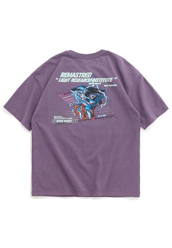 Twenty Eight Shoes Trend Printed Short T-Shirt 1072S20 0438EAA7875782GS_1