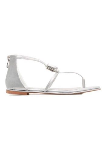 Deraine Shoes grey Deraine Basic Sandals (Grey) DE489SH0SYQYMY_1