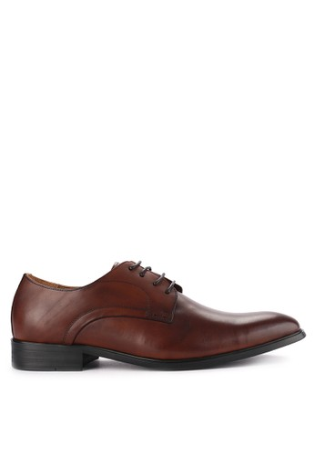 Hush Puppies brown Newton Derby 1206CSHBB8DB43GS_1