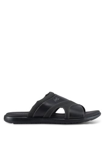 Louis Cuppers black Casual Sandals E8D61SHBCE471BGS_1
