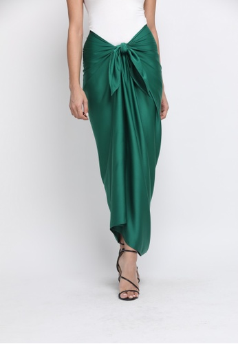 Klambi KL green INSTANT PAREO FOREST GREEN 5C589AAABE5275GS_1