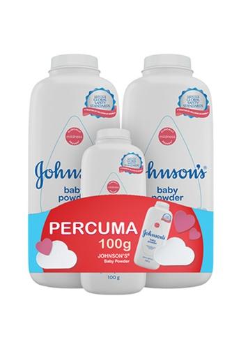 Johnson's Baby [Twin Pack] Johnson's Baby Powder Classic 500g [FREE] 100g 2ED2DES8611C18GS_1
