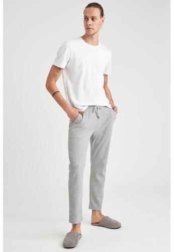 DeFacto grey Man Homewear Knitted Bottoms 8A165AAB504CB5GS_1