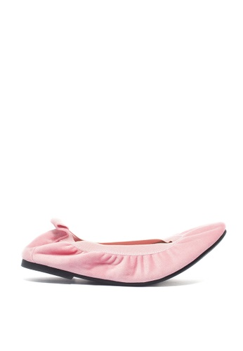M&G pink Charlotte Flats - Mi Amore by M&G 83A92SHEA6A3D4GS_1