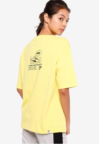 Puma yellow Downtown Graphic Women's Tee 895CAAAFC725DCGS_1