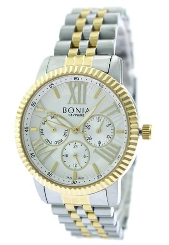 BONIA gold and silver Bonia B10441-2113 - Jam Tangan Analog Wanita - Silver Gold 23481AC10FD80AGS_1
