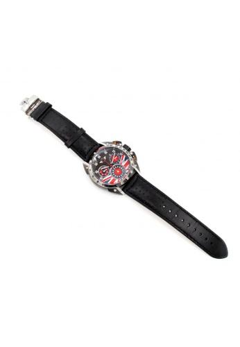 Mini grey Analogue Watch MI057AC12AILHK_1